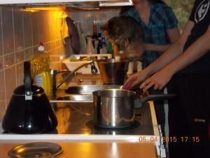 Burger will auch kochen